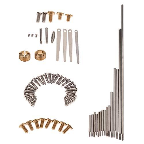 1 Satz Saxophonschrauben Schaft Stangenfedern Werkzeug Für Holzblasinstrumente