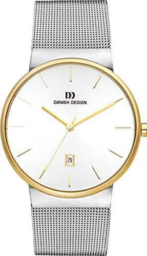 Danish Design Reloj Analogico para Unisex de Cuarzo con Correa en Acero Inoxidable IQ65Q971