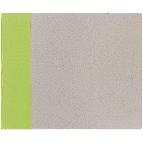 American Crafts 12-Inch by 12-Inch D-Ring Modern Scrapbooking Album, Key Lime