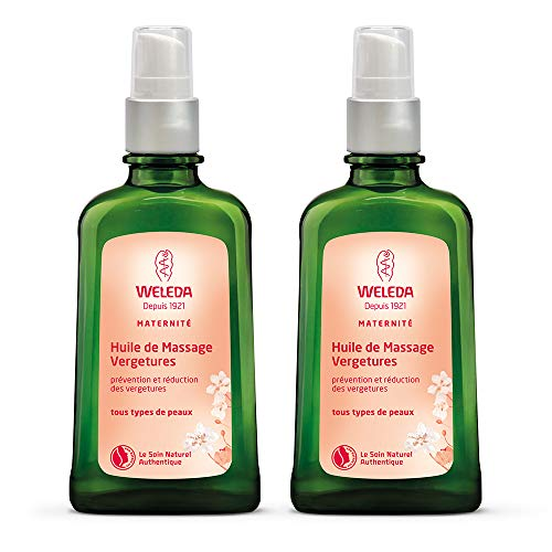 Weleda Maternité Huile de Massage Vergetures Lot de 2 x 100 ml