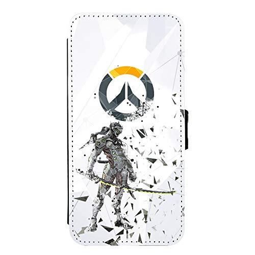 Genji Overwatch Fan Flip Case for Galaxy S10 Plus