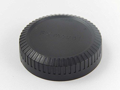 vhbw Objektiv Deckel Cap Abdeckung schwarz FX-Bajonett für Fuji/Fujifilm X-A1, X-E1, X-E2, X-M1, X-Pro Body, X-Pro1, X-Serie, X-T 1, X-T1