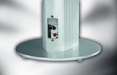 Magnat Needle Alu Super Tower I 1 Paar 2-Wege Säulenlautsprecher I Schlanke Design-Lautsprecher mit elegant gebürstetem Aluminiumgehäuse, Farbe:Silber
