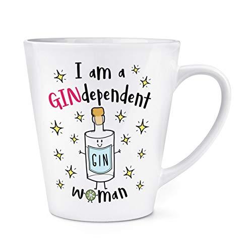 Je Suis une Gindependent Femme 12oz Latte Tasse Mug