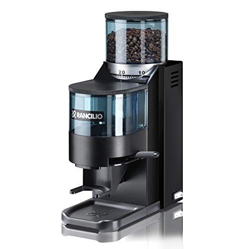 Rancilio Rocky Espresso Grinder - Doser - Black 20th Anniversary Limited Edition (Black)