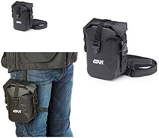 T517 Beentas, waterdicht, robuust, voor Givi, compatibel met Moto Guzzi geschenkriemen en reflecterende prints, zwart