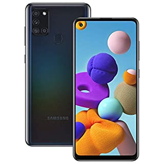 Samsung Galaxy A21s Android Smartphone, SIM Free Mobile Phone, Black (B0892YLTV6) | Amazon price tracker / tracking, Amazon price history charts, Amazon price watches, Amazon price drop alerts