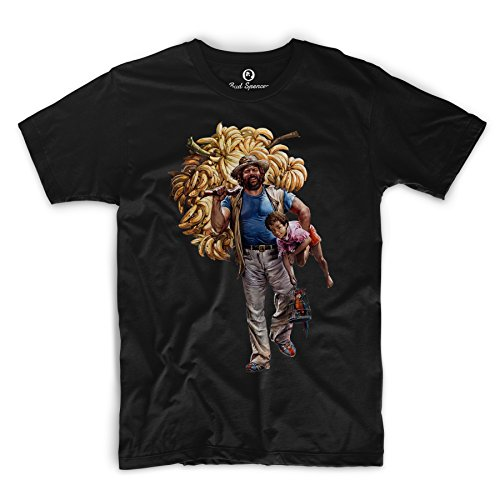 Bud Spencer® - B. Joe - T-Shirt (schwarz) (XL)