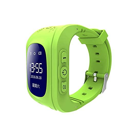 Reloj Inteligente Niño ZWRY Anti Lost Kids Smart Watch OLED Niño GPS SOS Monitor Posicionamiento Teléfono Reloj GPS