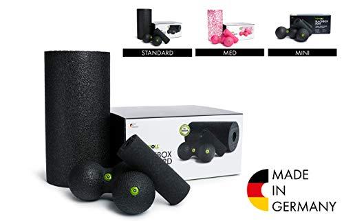 BLACKROLL BLACKBOX - Faszientool-Sets in verschiedenen Variationen - das Original. Selbstmassage-Produkte für die Faszien + Übungskarte
