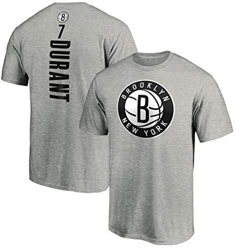 Männer Jersey Brooklyn Nets # 11 Kevin Durant Retro Basketball-Hemd Sommer-Basketball-Trikot Basketball Lässige Sportswear Löse Lauf-T-Shirt (S ~ XXXL),L