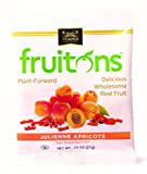 Traina Home Grown Fruitons Sun Dried Apricots - No Added Sugar, Non GMO, Gluten Free, .75 oz bags (Pack of 18)