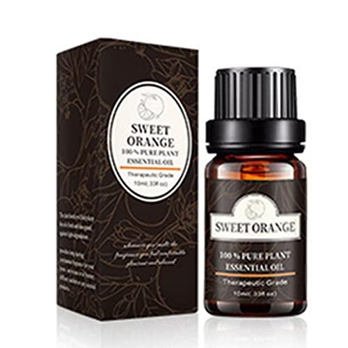 Kongqiabona-UK Aceite Esencial Aceite Esencial Sándalo Natural Puro Ylang Natural 10Ml Difusores De Aromatherapy Esenciales Puros Air Fresh Care