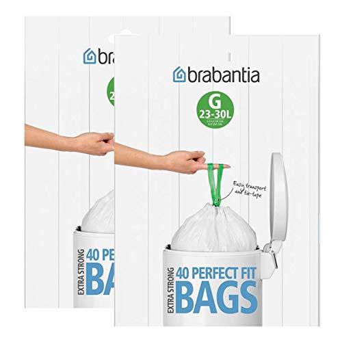 Brabantia Sac poubelle 23-30 Liter (G) (80 Stuck)
