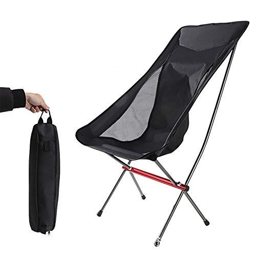 ZTBGY Sillas de camping plegables, portátiles al aire libre, silla de camping, silla plegable, ligera, silla de picnic, pesca, playa, silla plegable para picnic al aire libre, senderismo