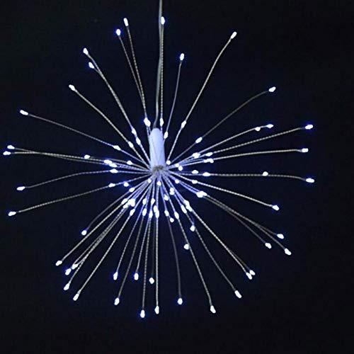 Garland Lights Feuerwerk im Freien Weihnachtslichter Power 100-180 LED String Kupferdraht Lichterketten Xmas Party Decor Lampe Twinkle-white_United_States_120LEDs