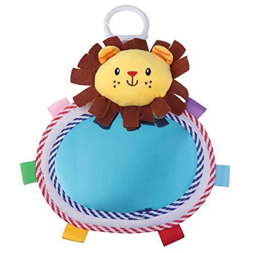 Toyvian 1Pc Baby Spiegel Spielzeug, Hängende Löwe Boden Aktivität Spiegel Entwicklung Baby Spielzeug für Neugeborene