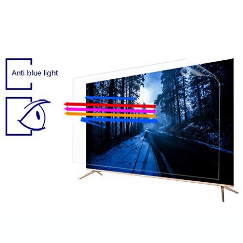 "XIJING Película Protectora de Pantalla de TV de 43"", Filtro de protección antideslumbrante/radiación Que Alivia la Fatiga Ocular, para LCD, LED, OLED, QLED,A"