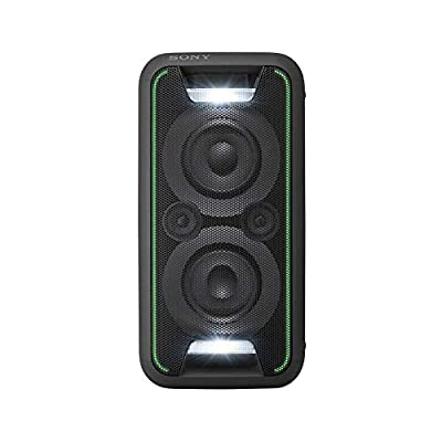 Sony GTK-XB5 Compact High Power Party Speaker, One Box Music System with Lighting Effects by Sony