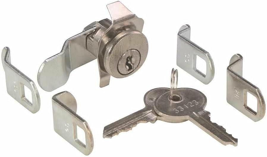 Universal Mailbox Mail Box Keyed Locks Lock with 5 Cams Combinat
