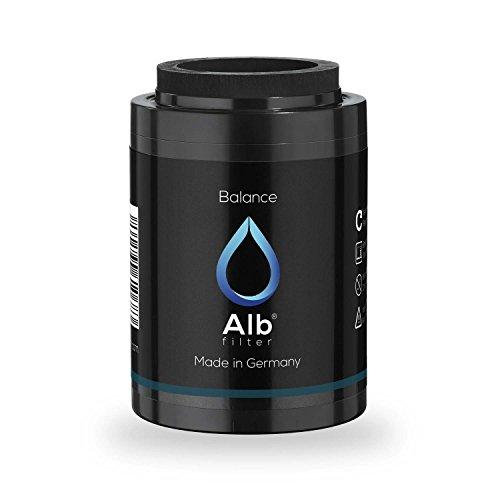 Alb Filter® Balance Duschfilter Ersatzkartusche für gesunde Haut und Haare. Reduziert Schadstoffe. Made in Germany