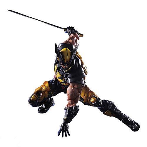 ODEUXS PA Change X-Men Wolverine Logan Howlet Wolverine Movable Model Wolverine Figure Model Collector Gift