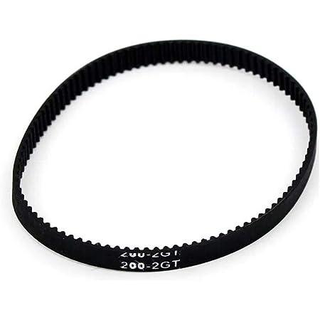 GT2 Timing Belt 200mm Width-6mm Closed-Loop Rubber Belt for 3D Printer