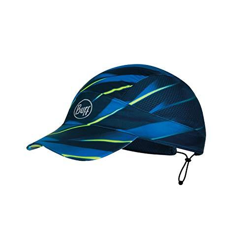 Buff Erwachsene Pack Patterned Run Cap, R-Focus Blue, One Size