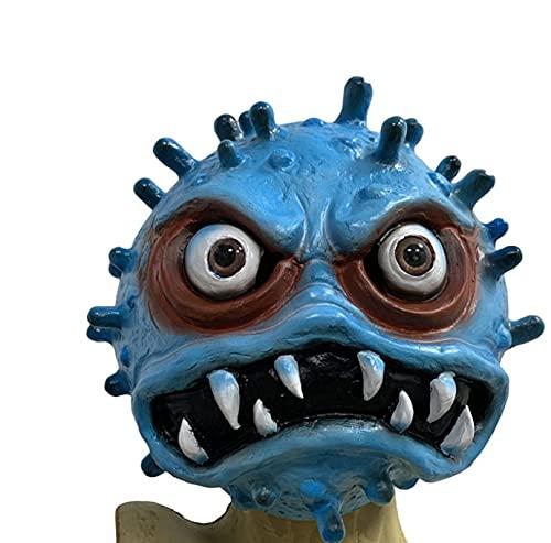 Milu deer Accesorios Propaganda Antiepidémica Máscara Virus Accesorios Carnaval Halloween Accesorios Goma para La Fiesta Halloween (Color : A, Size : One Size)