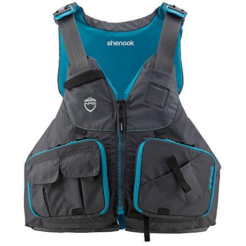 NRS Women's Shenook Fishing Lifejacket (PFD)-Charcoal-L/XL