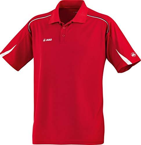 JAKO Passion t-Shirt à Manches Courtes pour Homme M Multicolore - Rouge/Blanc