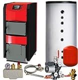Festbrennstoffkessel ThermoFlux HKK Aktive 20 kW Set-1