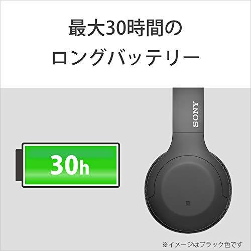 ソニーワイヤレスヘッドホンWH-H810:ハイレゾ対応/AmazonAlexa搭載/bluetooth/最大30時間連続再生/ハイレゾ相当アップスケーリング対応タッチセンサー搭載小型・軽量2019年モデル/マイク付き/360RealityAudio認定モデルブラックWH-H810BM