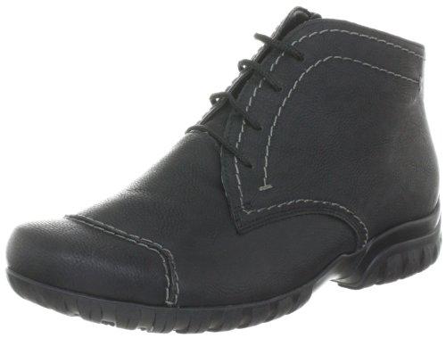 Rieker L4640-00, Damen Fashion Halbstiefel & Stiefeletten, Schwarz (schwarz 00), EU 38
