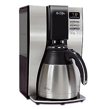 Mr Coffee Optimal Brew 10-Cup Thermal Coffeemaker System BVMC-PSTX91-RB  Renewed