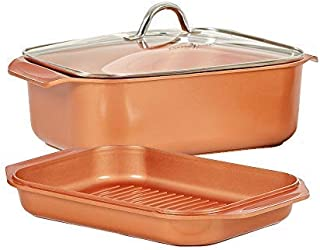 Copper Chef Wonder Cooker 3pc 14-in-1 Functions 10.5 qt