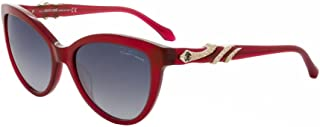 ROBERTO CAVALLI Sunglasses RC878S 68W Red/Other / Gradient Blue 55MM