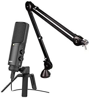 Rode NTUSB Versatile Studio-Quality USB Microphone BUNDLE. Value Kit with Acc