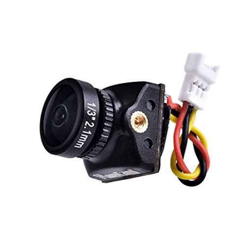 RunCam Nano2 Ultra Micro Camera Swift Mini 1/3 700TVL CMOS 2.1mm/1.8mm Nano 2 FPV Camera NTSC/Pal for RC Racing Drone DIY Quadcopter (Nano 1.8mm Pal)