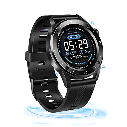 "Smartwatch, Fitness Tracker 1.54"" Touchscreen Armbanduhr Wasserdicht Aktivitätstracker,Smart Watch mit Herzfrequenz Schlafmonitor Schrittzähler Wettervorhersage für Damen Herren Android iOS Kompatibel"
