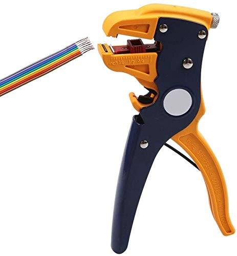 GSAGJsh Automatische Abisolierzange und Cutter, automatische Kabel Abisolierzange mit Cutter Abisolierzange Abisolierzangen for professionelle Industrie