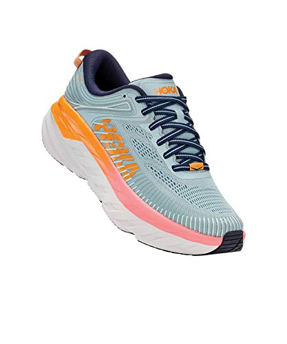 Hoka One One Women's Bondi 7 - Blue Haze/black Iris - 8
