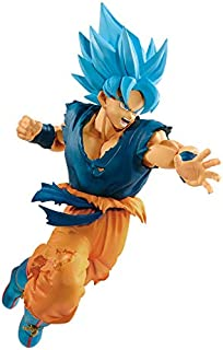 Dragon Ball Super 10200_38906 Ultimate Soldiers The Movie II - Super Saiyan Blue Son Goku Figure, Brown/A