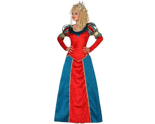 Atosa - 18308 - Costume - Déguisement De Reine Médiévale - Adulte - Taille 2