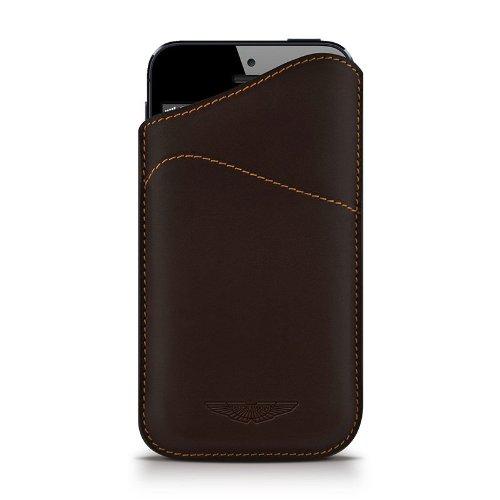 Beyzacases-Custodia serie ID Aston Martin per iPhone 5, colore: nero