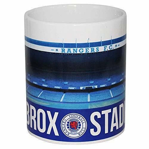 Rangers FC Official Ibrox Football Stadium 11oz Ceramic Mug