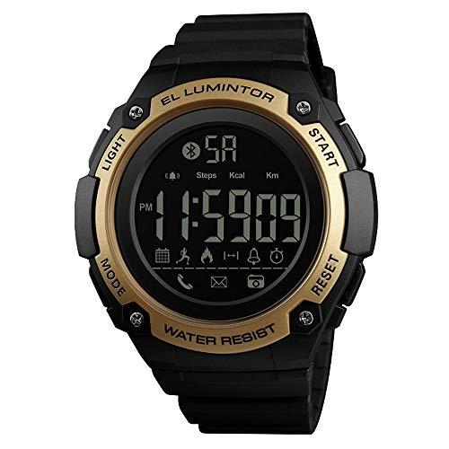 Reloj Elegante E-Fitness Sports Tracker Bluetooth Digital podómetro Impermeable a Distancia de la cámara de Llamadas o un recordatorio del Mensaje de notificación for iOS Android SmartWatch mí