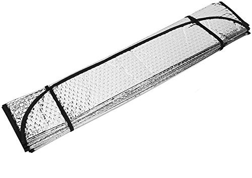 Parasol Coche Delantero Plegable Protector Solar de Luna Delantera Parasol Coche para...