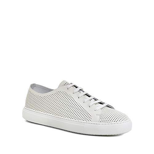 Fratelli Rossetti Sneakers Traforata in Pelle Color Panna (10)