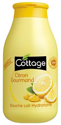 Cottage ducha leche limón Gourmand 250ml–juego de 3